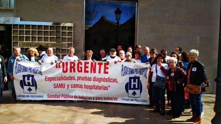 Sanidad abre la puerta a «compensar el millón de euros y ni confirma ni desmiente la compra del Hospital de Manises»