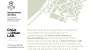 Chiva publica un documento para la resolución de dudas respecto al desarrollo urbano y sostenibilidad
