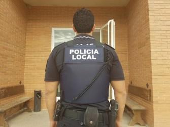 Chaleco Policía Local Chiva 3
