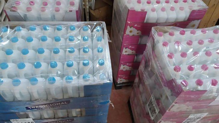 SPB realiza una donación de lejía a Yátova para la desinfección de los espacios públicos