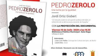 Se presenta este viernes en Buñol el libro: «Pedro Zerolo. Una lucha por la igualdad»