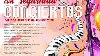 El ciclo: con «seguridad» Conciertos, llega a Buñol del 17 de julio al 16 de agosto