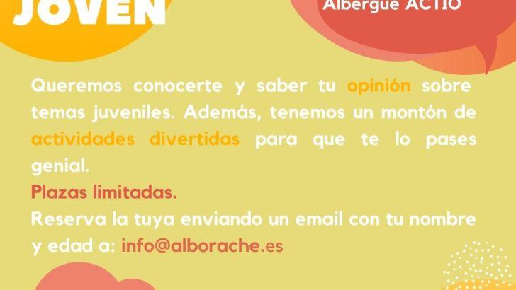 Alborache presenta las actividades de ocio educativo para jóvenes el mes de agosto
