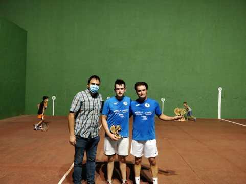 Ganadores Torneo Frontenis Buñol 2020 2