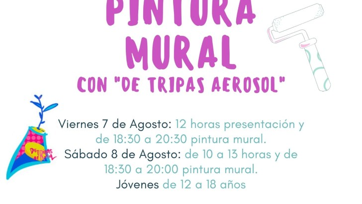 La Mancomunidad organiza unas Jornadas Juveniles de pintura mural