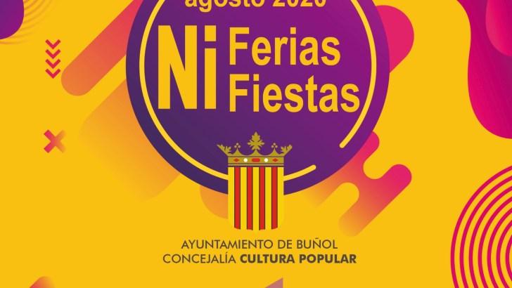 Buñol organiza un programa de actividades seguras bajo el título: «Ni Ferias, ni Fiestas»