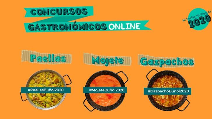 La Concejalía de Cultura Popular de Buñol lanza los concursos gastronómicos por redes sociales