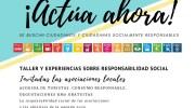 Las asociaciones de Alborache comparten con la ciudadanía sus acciones en materia de responsabilidad social
