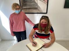 Firma acuerdo hermanamiento La Ferté-Imbault- Alborache 5