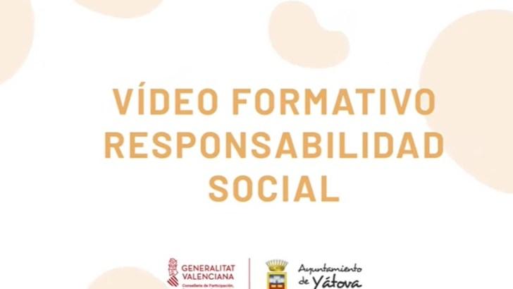 Yátova forma e informa sobre la responsabilidad social