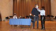 Máximo Huerta homenajeado en la presentación de su novela en Buñol