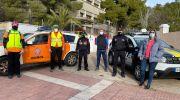 Policía Local y Protección Civil de Buñol forman en educación vial a alumnas y alumnos del CEIP Cervantes