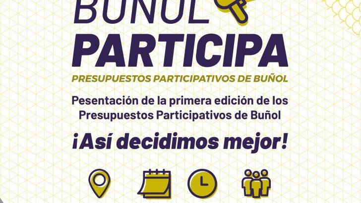El Ayuntamiento de Buñol presenta sus nuevos Presupuestos Participativos