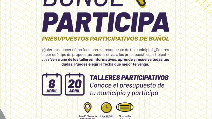 Los vecinos de Buñol podrán hacer propuestas para incluir en el próximo presupuesto