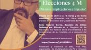 Podemos Buñol organiza una charla informativa con motivo de las elecciones a la Asamblea de Madrid