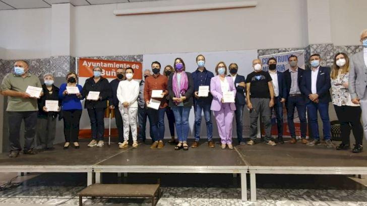 Pérez Garijo rinde homenaje a 9 personas de la comarca de La Hoya de Buñol víctimas del Holocausto