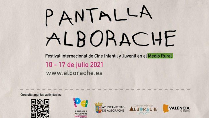 El Festival de Cine Infantil y Juvenil Pantalla Alborache invita a niños, niñas y jóvenes a formar parte del jurado infantil