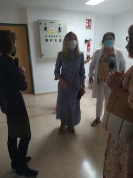 Visita centro salud Buñol