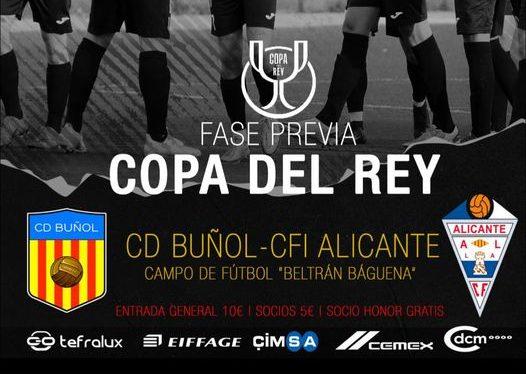El CD Buñol disputará de nuevo la Fase Previa a la Copa del Rey