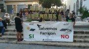 «Salvemos Farrajón» participa en la marcha contra los macroparques de placas fotovoltaicas