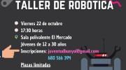 La Concejalía de Juventud de Buñol organiza este viernes un taller de robótica