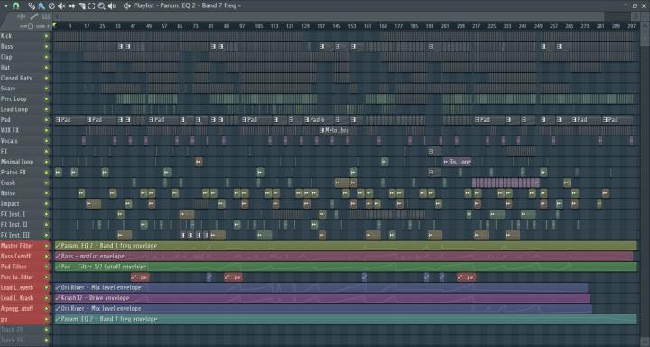 Hozho - Midas Touch (FL Studio)