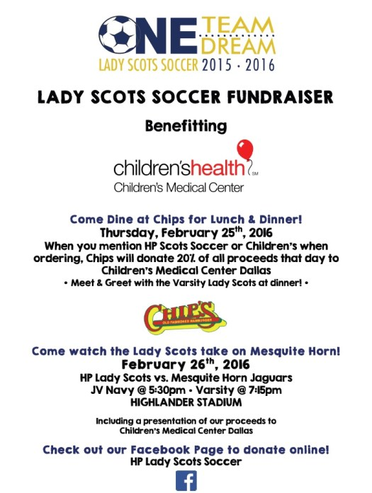 Lady Scots Soccer Event