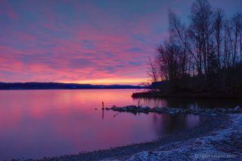 Sunrise over Øyeren