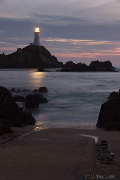Corbiere Lighthouse Night