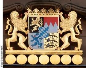 Bayerisches Wappen / Foto: Carsten Frerk