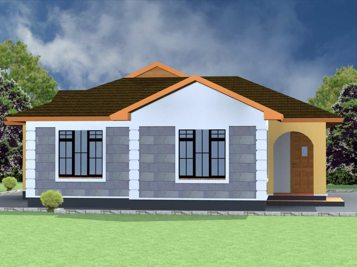 2 Bedroom House Plans pdf Free Download   HPD Consult