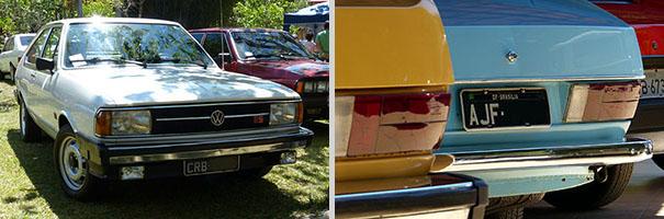 Passat TS 1981 e Passat LM 1975: placa preta no V Encontro Nacional do Passat