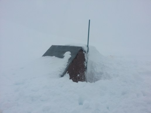 This is the wood shed near brew (can be completely covered in snow)