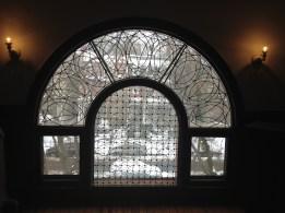 McArthur House ballroom window