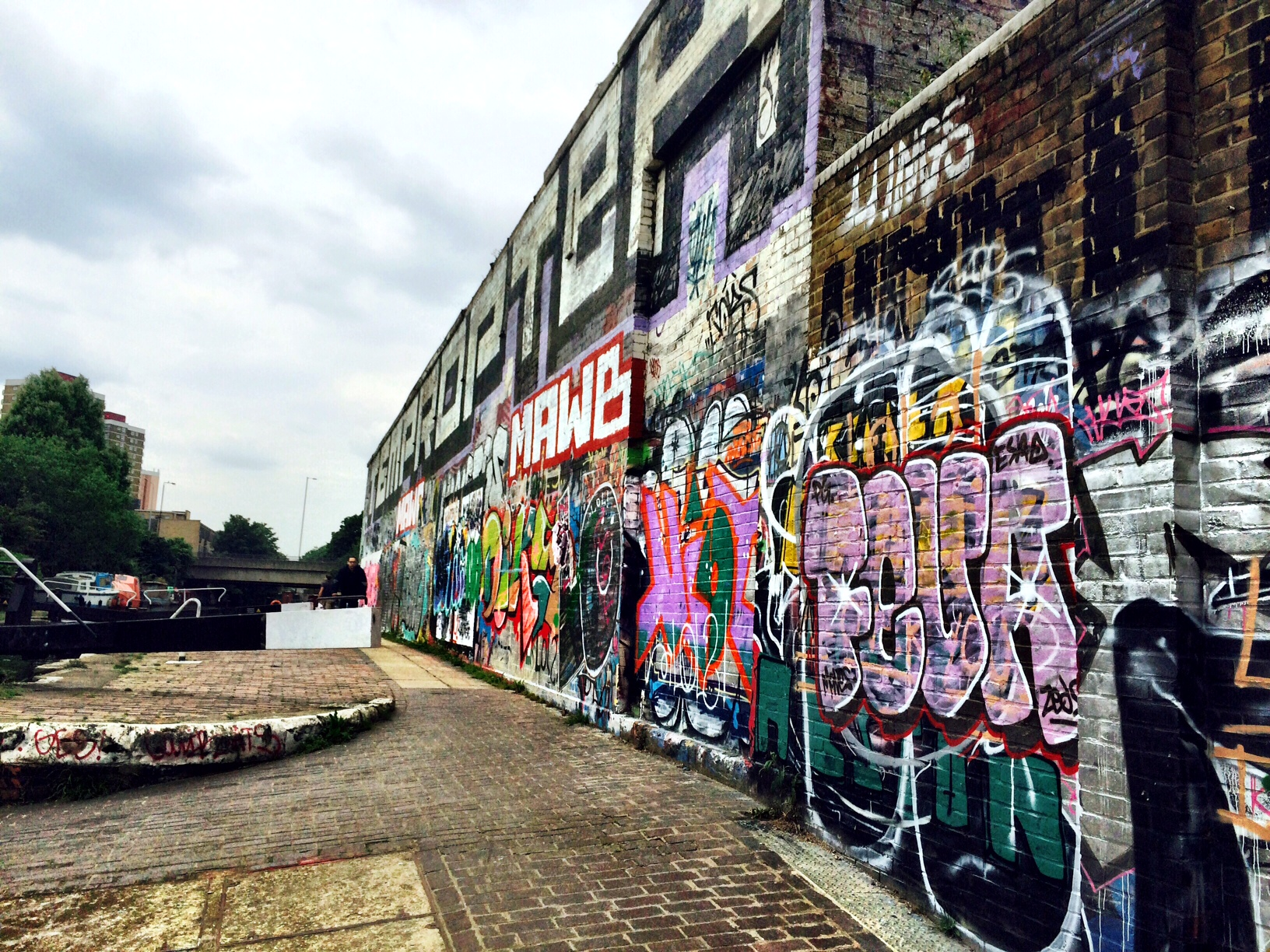 graff wall hertford union 2