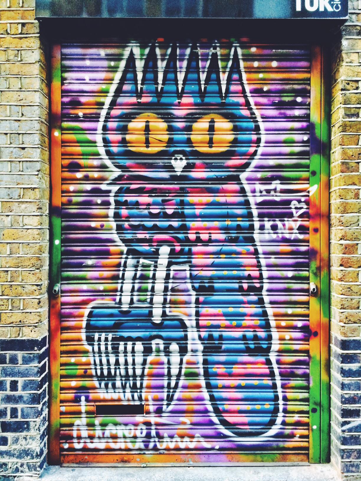 rivington street graffiti dscreet