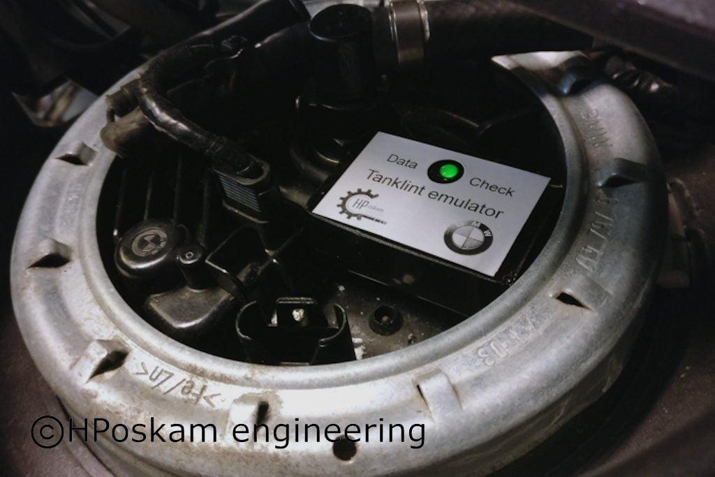Connected tank ribbon emulator