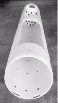 Ribless HPP Basket in white from HPP Advisors