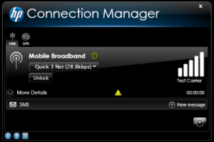 Hp Connection Manager For Windows 7 Vista And Xp For Wwan