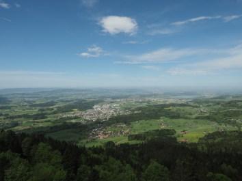 Weitblick Richtung Zürich