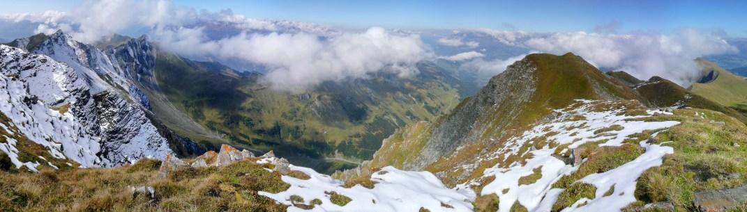Tiefblick ins Valzeina Richtung Landquart