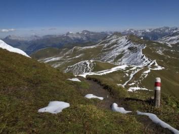 Abstieg Richtung Langwies