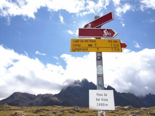 Italienische Grenze ohne Zollkontrolle