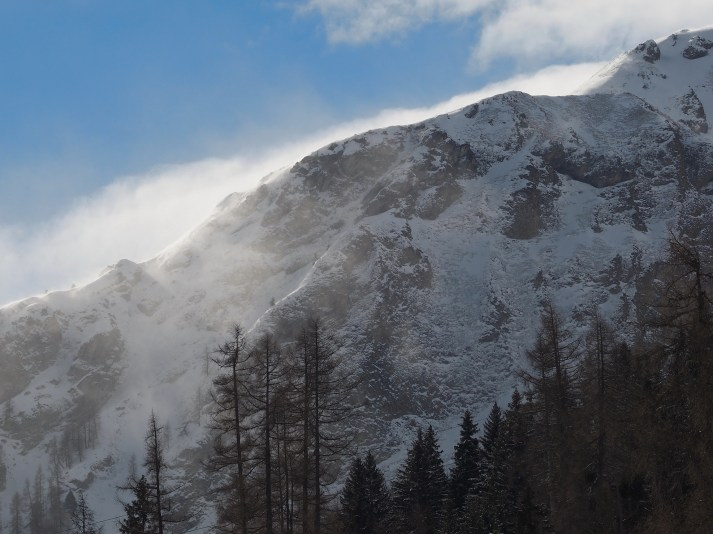 Föhnsturm über der Kante vom Alpstein
