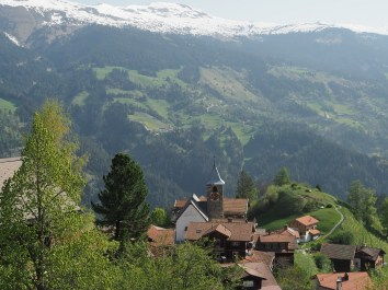 Vom Alpina Richtung Büel - Pagig & St. Peter mit Hochwang