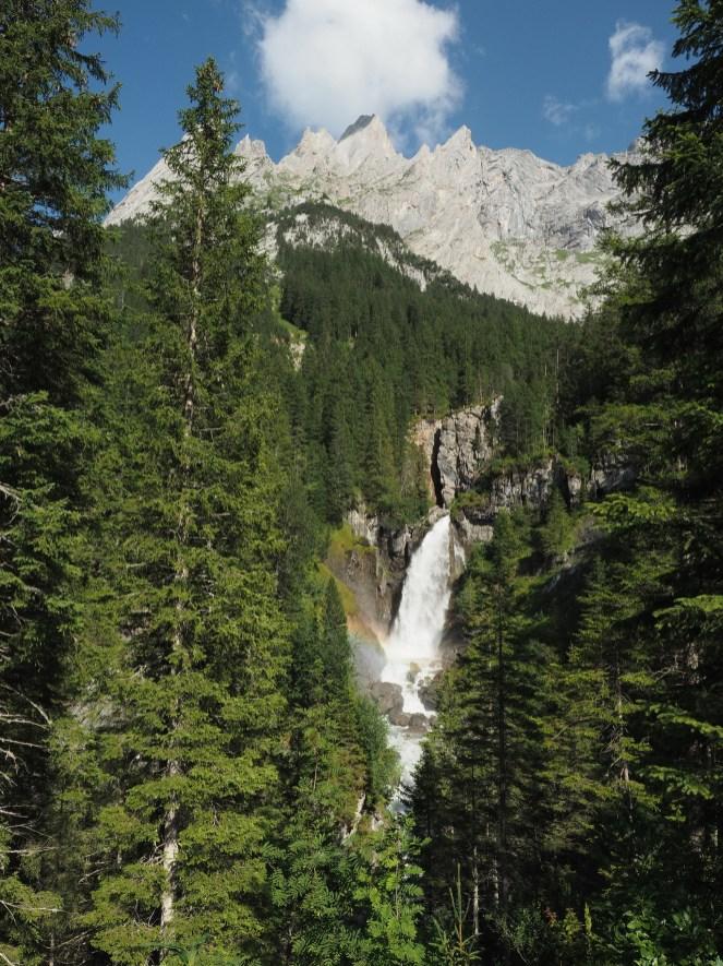 Ausgang Gletscherschlucht Rosenlaui mit Engelhörner