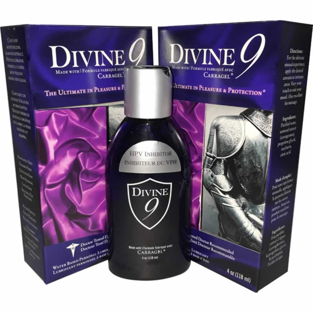 Divine 9 Personal Lubricator