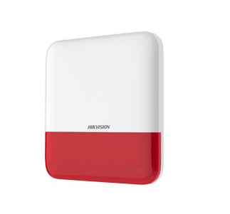 hikvision-axpro-ds-ps1-e-we-red-buitensirene
