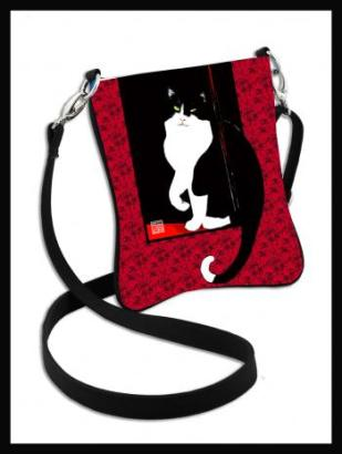 Image of WINDOW KITTY sling shoulder bag