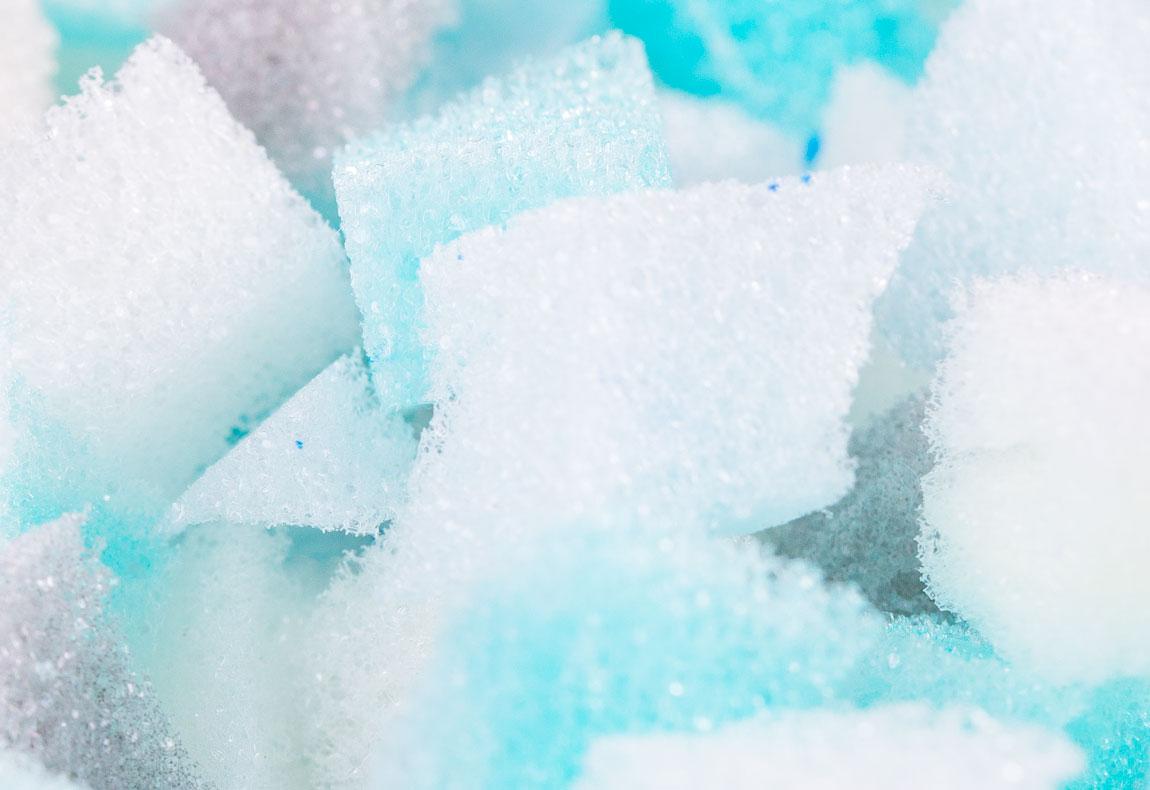 shredded memory foam pillow 2 pack